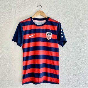 Nike Dri-Fit USA soccer Shirt